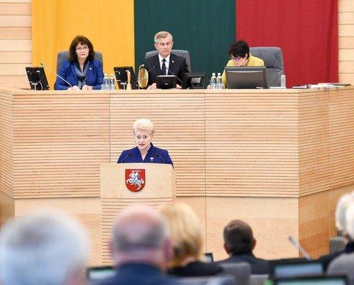 GrybauskaitesPranesimas2017