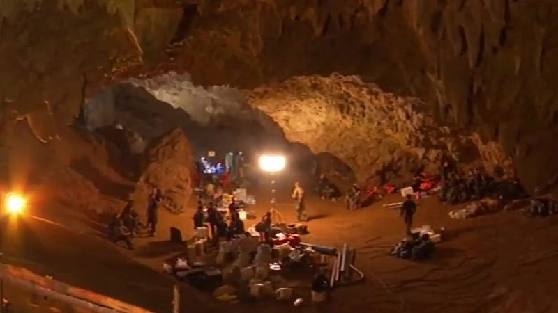 All 12 boys and their soccer coach trapped in Thai cave for 18 days rescued