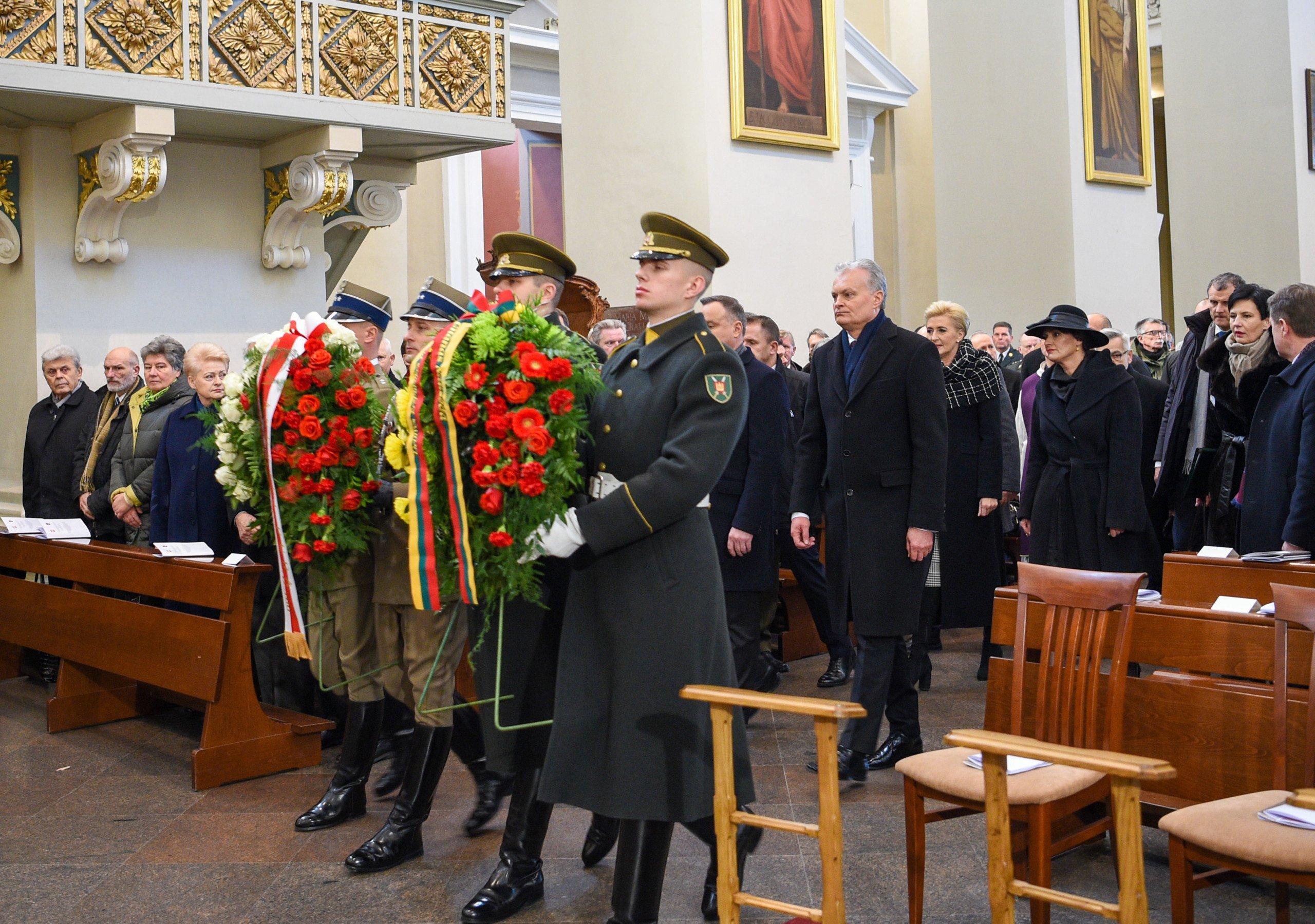 Lietuvos ir Lenkijos Prezidentai pagerbė 1863–1864 m. sukilimo vadų ir dalyvių atminimą