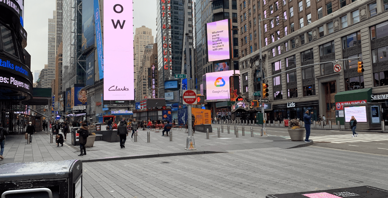 Times Square, NYC 03/20/2020