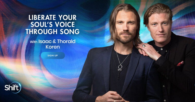 Liberate Your Soul's Voice Through Song with Isaac & Thorald Koren