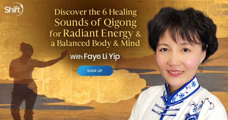 Healing Sounds of Qigong for Radiant Energy & a Balanced Body & Mind with Faye Li Yip